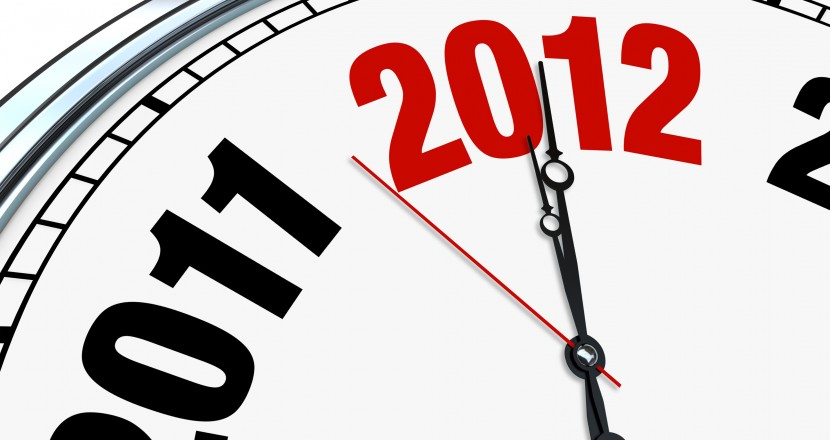 Clock Ticking Down to 2012 - New Year